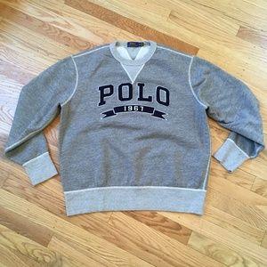 Polo Ralph Lauren Big Logo Crew Sweater Men XL